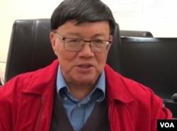 研究中共政治运动史的专家、加州州立大学的汉学家宋永毅教授 (美国之音2020年1月资料在)