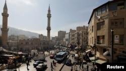 نمایی از مرکز شهر امان، پایتخت اردن