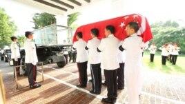 Nderimet e fundit për Lee Kuan Yew