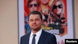 El actor estadounidense Leonardo DiCaprio es un activistas por las causas del medio ambiente y el cambio climático.