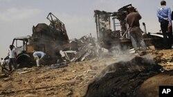 لیبیا کے دارالحکومت پر تازہ فضائی حملے