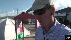 Leonard Doyle, communications director with the IOM, came up with the idea to put a suggestion box in some of the camps in Haiti