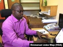 Liboum Mbonayem du Cifor à Yaoundé, le 5 novembre 2018. (VOA/Emmanuel Jules Ntap)