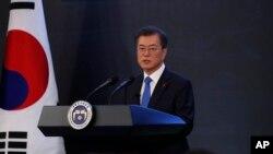 韩国总统文在寅(资料照)