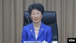 台灣陸委會主委張小月。