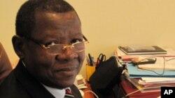 Lambert Mende, porte-parole du gourvenement de la RDC