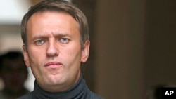 FILE - Russian opposition leader Alexei Navalny