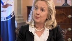 Penjelasan Hillary Clinton mengenai Sanksi Amerika terhadap Iran - Liputan VOA 26 Oktober 2011