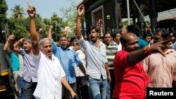 پاریدلي هندي مظاهره کوونکي