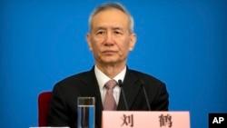 中國國家主席習近平派往美國進行貿易談判的特使劉鶴 (資料照片)