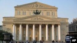 修复后的莫斯科大剧院