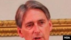 Menteri Pertahanan Inggris, Phillip Hammond
