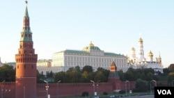 莫斯科克里姆林宫(美国之音白桦拍摄)