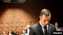 """Oscar Pistorius, dit """"Blade Runner"""", lors de son procès pour le meutre de sa petite amie (Reuters)"""