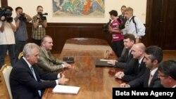 Sastanak u Predsedništvu Srbije 7. juna 2012.