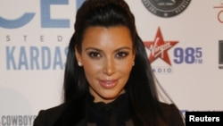 Reality TV star Kim Kardashian, January 4, 2013.