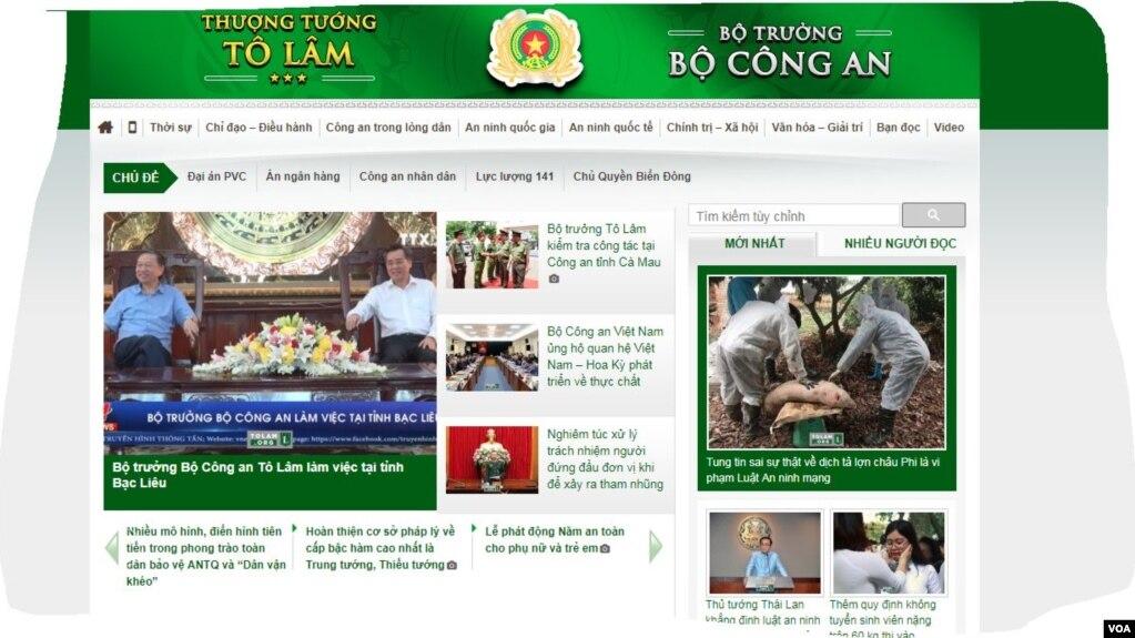 Trang đầu của Tolam.org. (Hình trích xuất từ trang Tolam.org)