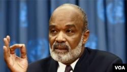 Ayiti-Eleksyon: Prezidan Préval Aplike Demand OEA a
