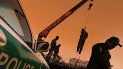 خروج يک سازنده ديگر جرثقيل از ايران در اعتراض به اعدام با اين وسيله ساختمانی