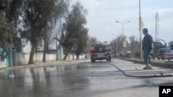 کشته شدن دو پولیس افغان درانفجار جلال آباد