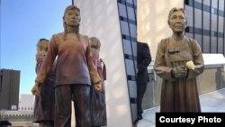 旧金山市的慰安妇雕像正式问世