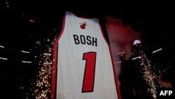 Un maillot du Miami Heat