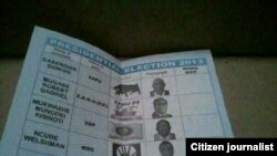 The MDC-T claims that the elections were rigged by the Zimbabwe Electoral Commission in favour of President Robert Mugabe's Zanu PF party.