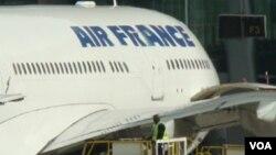 El vuelo 22 de Air France partió del aeropuerto en París Charles de Gaulle.