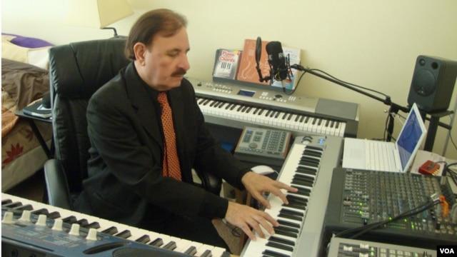 'Jump Jump Camel' host Sardar Ali reviews songs for VOA's weekly children's musical program.
