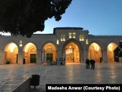 مسجد ِاقصٰی کا بیرونی منظر