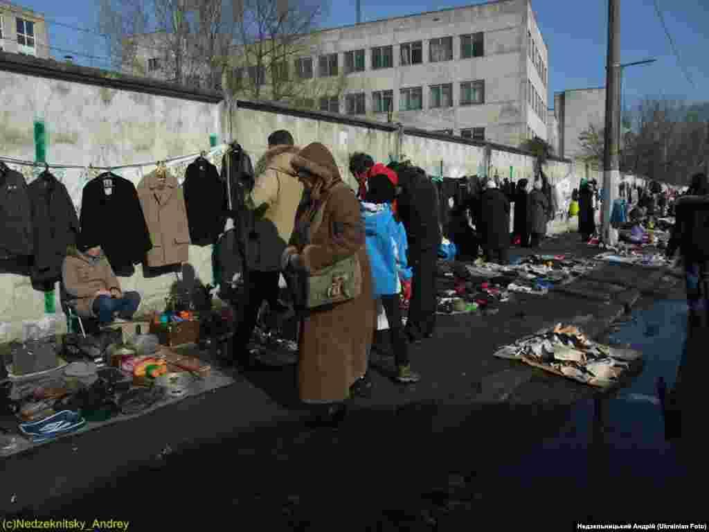 Київська Барахолка. Фото Недзельницького Андрія