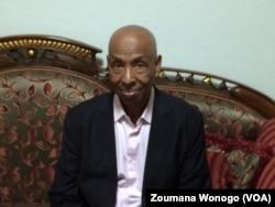 Ousman Zakaria Ramadan, expert Tchadien, à Ouagadougou, le 7 septembre 2017. (VOA/Zoumana Wonogo)