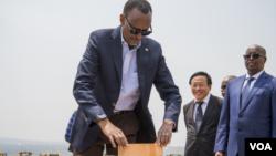 Perezida Paul Kagame w'u Rwanda