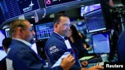 紐約股市交易