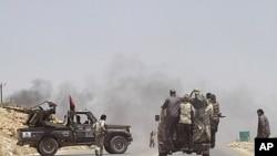 لیبیا: سرکاری فوج کے حملے میں پانچ باغی ہلاک
