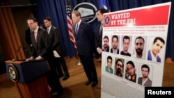 راد روزنستاین قائممقام دادستان کل ایالات متحده آمریکا در نشست خبری روز جمعه درباره تحریم جدید این افراد توضیح می دهد.