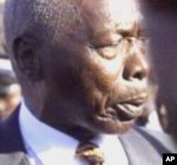 Kenya's former President Daniel Arap Moi