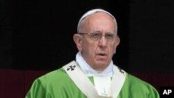 Le pape François, 12 juin 2016. (AP Photo/Alessandra Tarantino)