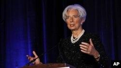 Christine Lagarde abogó porque EE.UU. asuma el mismo liderazgo que tuvo en la posguerra.