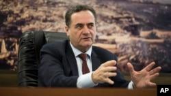 ییسرائل کاتز، وزیر اطلاعات اسرائیل