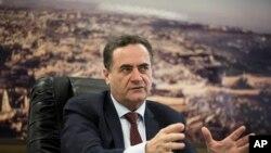 İsrail Ulaştırma Bakanı Yisrael Katz
