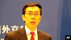 중국 외교부의 정례브리핑에서 류웨이민 대변인