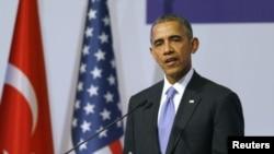 Barak Obama, predsednik SAD na samitu G20 u Turskoj, 16. novembar 2015.