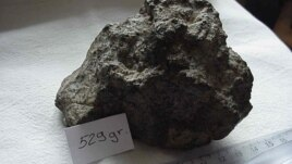 A meteorite from Mars called Northwest Africa (NWA) 1068 was found in the Moroccan Sahara in 2001.