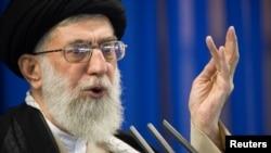 Lãnh đạo tối cao Iran Ali Khamenei.
