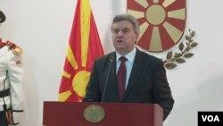 Predsednik Makedonije Đorđe Ivanov
