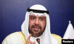 FILE - Olympic Council of Asia (OCA) President Sheikh Ahmad Al-Fahad Al-Sabah of Kuwait.