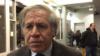 Almagro: ambas partes en Nicaragua juegan con la OEA
