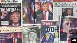 انتخابات ریاست جمهوری ایالات متحده در صدر پوشش خبری رسانه های امریکا قرار گرفت