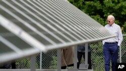 Predsjednik Joe Biden obilazio je tokom kampanje solarne elektrane, poput ove u Nju Hempširu